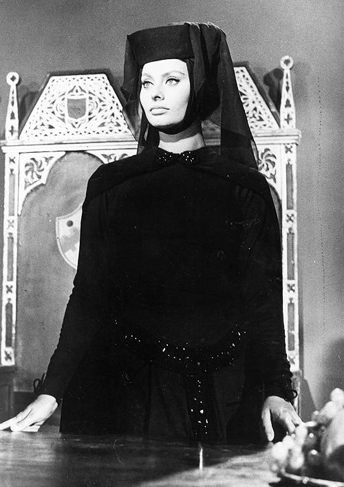 Sophia Loren in El Cid, 1961. | Sophia Loren | Pinterest