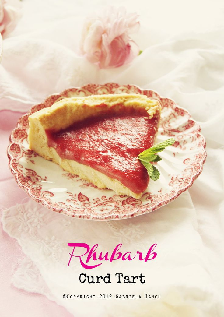 Rhubarb Curd Tart - http://whatlibertyate.com/2012/05/21/in-the ...