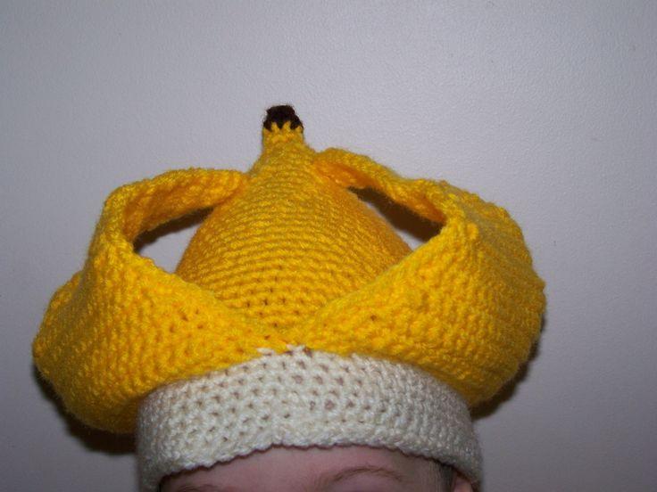 Crochet Pattern Central Doll : crochet banana hat Crochet Pinterest