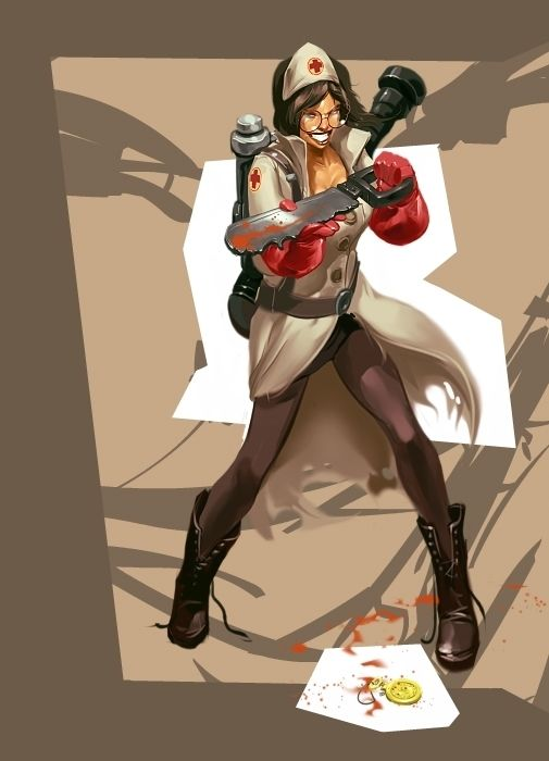 Pity, that tf2 genderbend porn