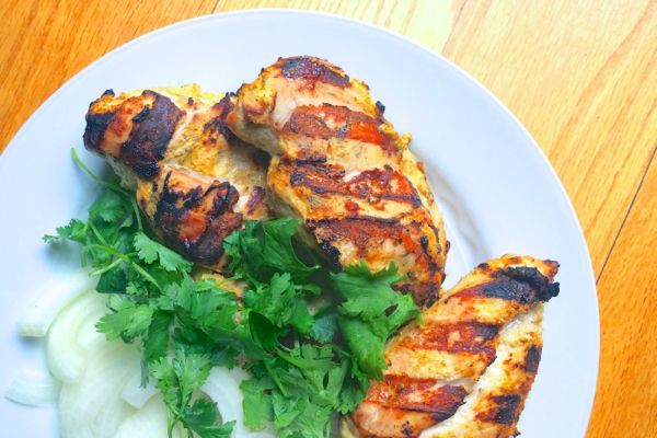 indian spiced grilled chicken recept yummly spicy butter chicken ...