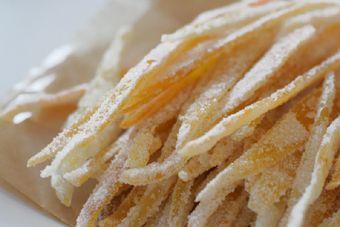 Candied Citrus Peels   Baking love   Pinterest
