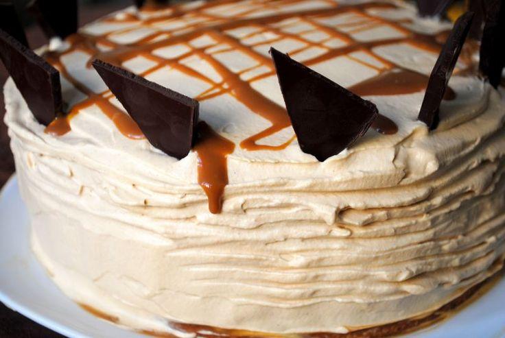 Dulce de Leche Cake with Dulce de Leche Whipped Cream
