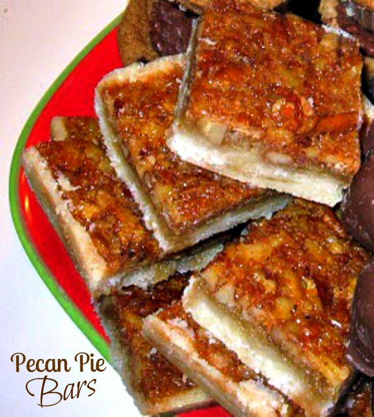 ... like a good pecan pie then you are going to love these pecan pie bars