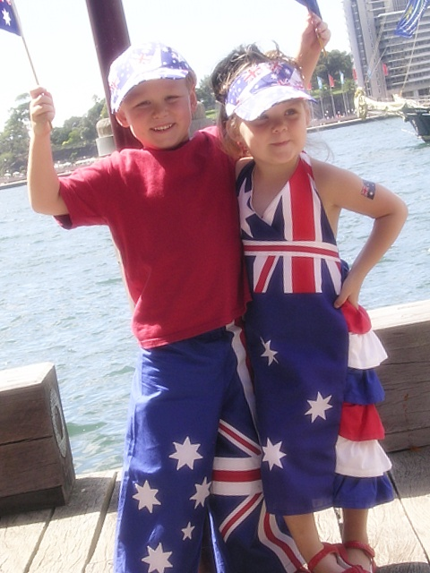 australian flag day 2012