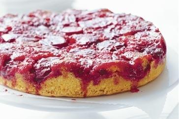 Upside-down plum cake | Sweets! | Pinterest