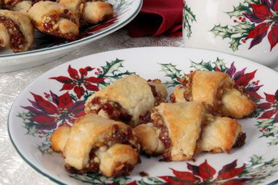 Cranberry and Orange Almond Rugelach | Yumm! | Pinterest