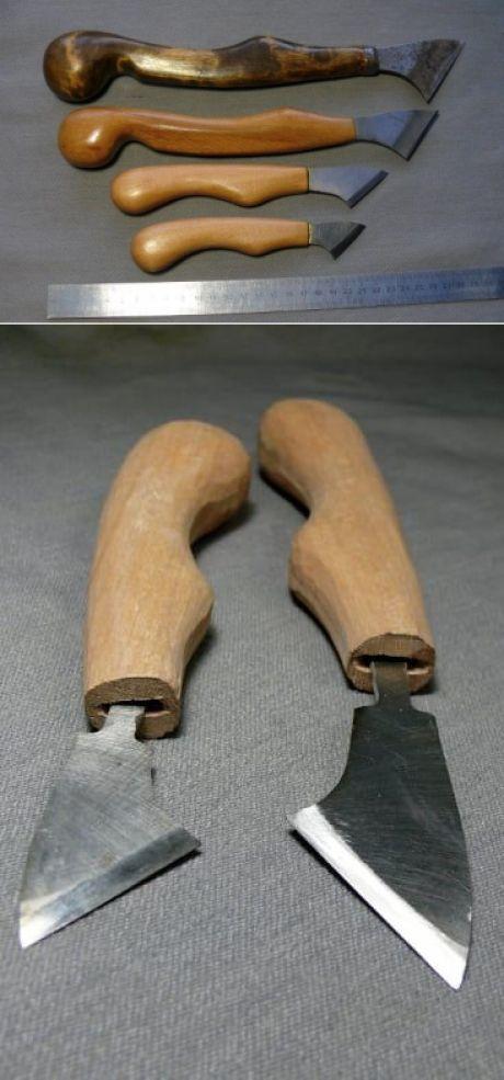 Нож по дереву своими руками фото 21