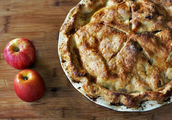 Double Crust Apple Pie | Tarts & Pies | Pinterest