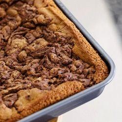 Nutella Blondies. | recipes [desserts - cookies & bars] | Pinterest