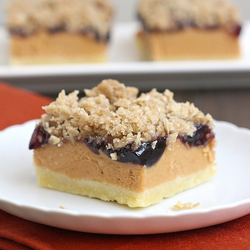 Peanut Butter and Jelly Bars | Sweet Tooth | Pinterest