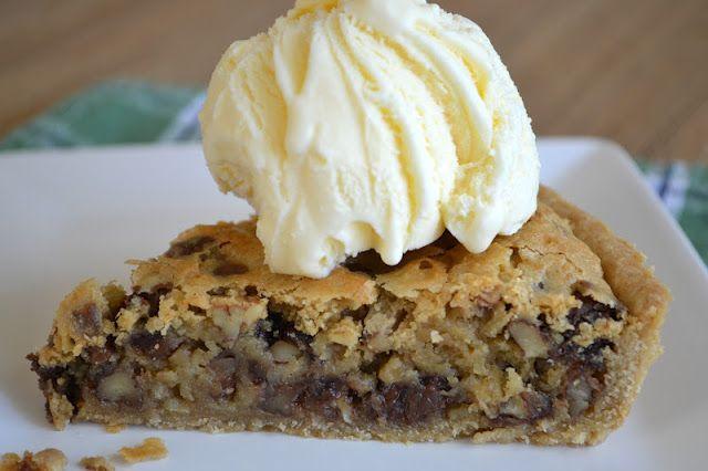 Oatmeal Chocolate Chip Cookie Tart | Truffles, Tarts, Trifles, Fritat ...
