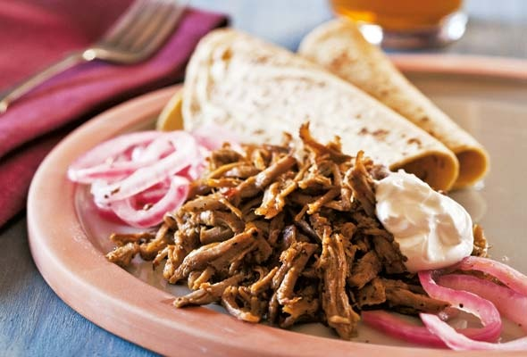 Pulled Pork Tacos with Habanero Salsa | Recipe