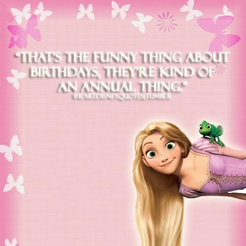 Disney Birthday Wishes For Friend ~ Disney quotes about birthdays quotesgram