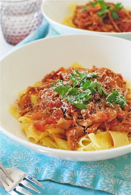 Pappardelle With Amazing Slow-Cooked Meat Recipes — Dishmaps