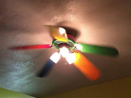 Rainbow Ceiling Fan : Rainbow ceiling fan decor fashion fragile pinterest