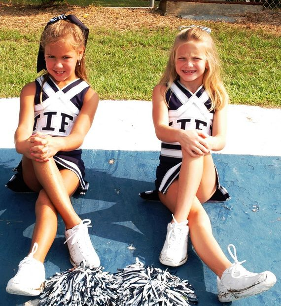Sweet Cheerleading Hairstyles For Little Girls 14 Jpg
