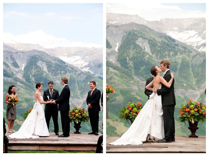 My idea of a mountain wedding
