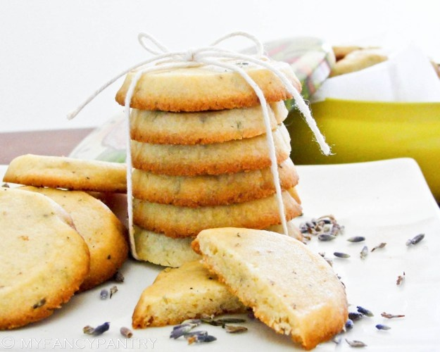 lavender honey cookies shortbread recipe | Food/Recipes | Pinterest