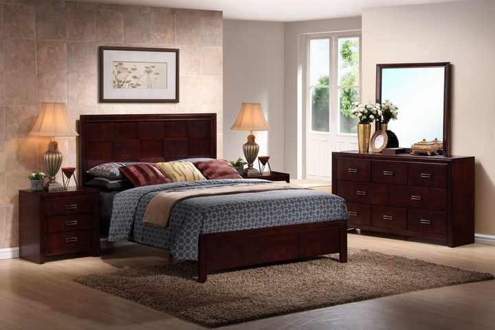 Cherry King Size Bedroom Sets 720 x 480
