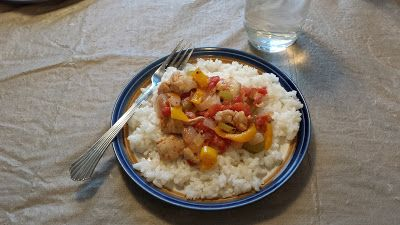 Chicken Basquaise with Carbonell Spanish Olive Oil (Frugal Food ...