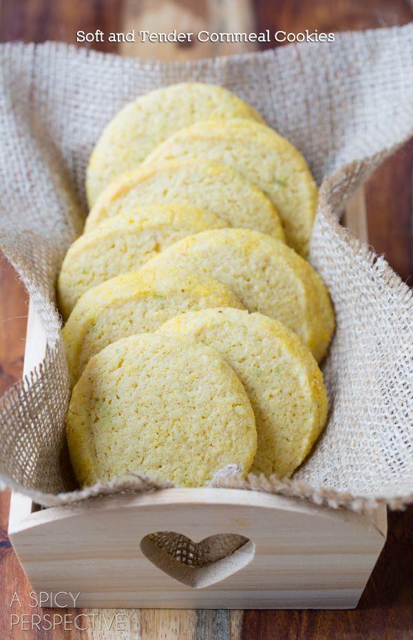 Cornmeal Cookies (Best Sugar Cookie Recipe Variation!) #cookies #corn ...