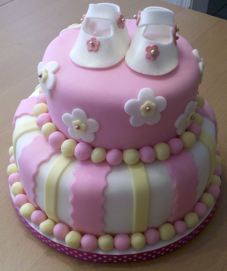 Living room decorating ideas baby shower cakes girl pinterest for Baby cake decoration