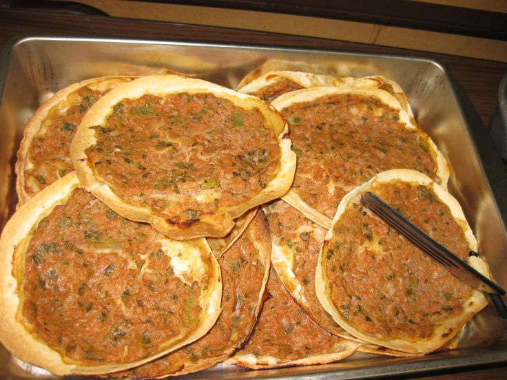 Lahmajoon armenian meat pie food pinterest for Anoush middle eastern cuisine
