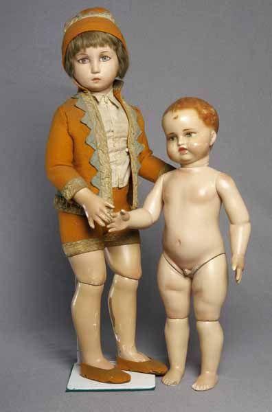 Burgarella dolls