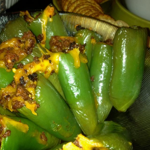 Chorizo stuffed jalapeños!!!! | Let me feed you... | Pinterest