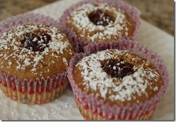 Jelly Doughnut Cupcakes | Foodie | Pinterest