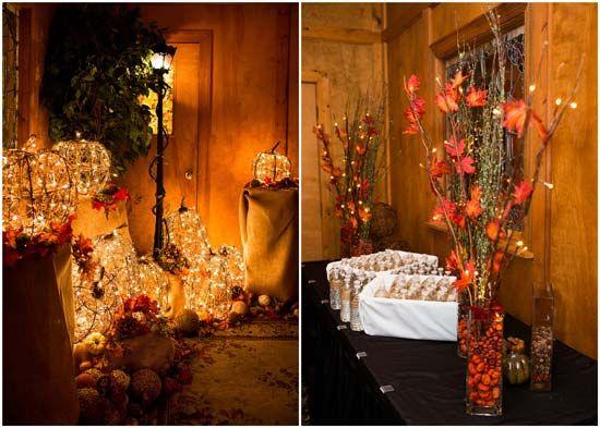 autumn wedding theme part