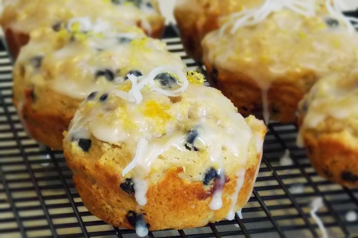 Blueberry Coconut Muffins | Muffins | Pinterest