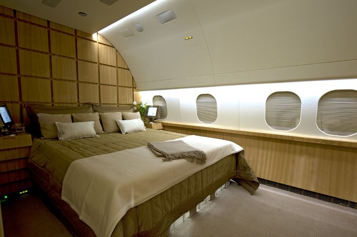 Boeing 757256 Master Bedroom By Edse Doret  Private Jet Interiors  Pinterest