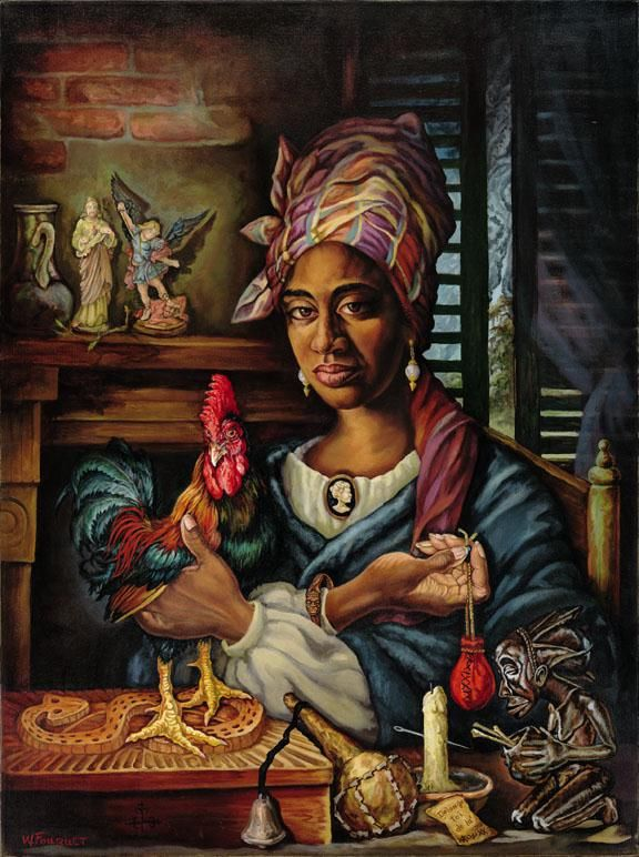 """Marie Laveau, the """"Voodoo"""" Queen of New Orleans"""