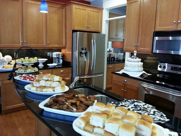 Set all your food out buffet style dinner party pinterest