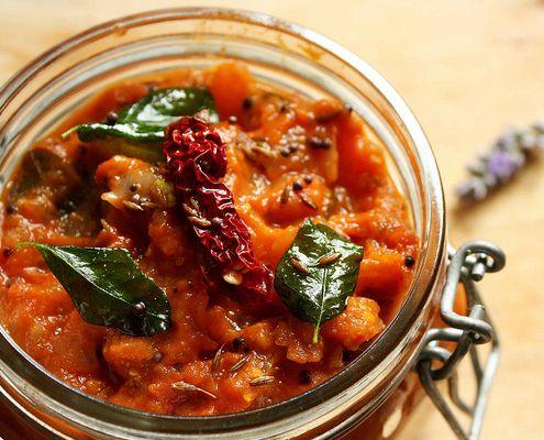 Spicy Tomato Chutney...via Honest Cooking...