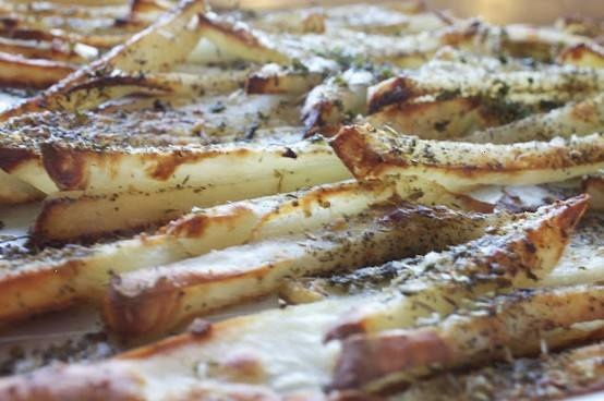 BAKED ITALIAN FRIES | Taters | Pinterest