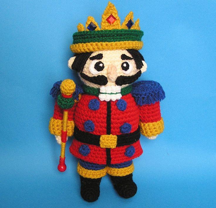 PUDGY NUTCRACKER PDF Crochet Pattern. $5.00