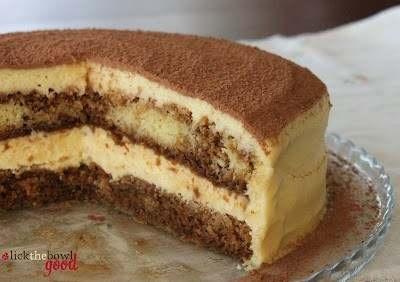 TIRAMISU LAYER CAKE | sweet food | Pinterest