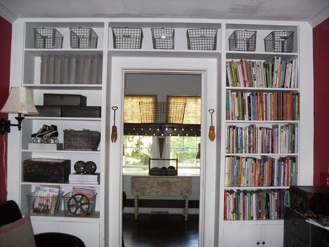 Awesome  Hope To Have Both A Window Seat And Built In Shelves Around It Love