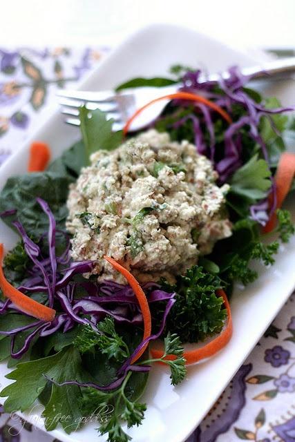 "Vegan ""Tuna"" Salad Recipe | GLUTEN-FREE | Pinterest"