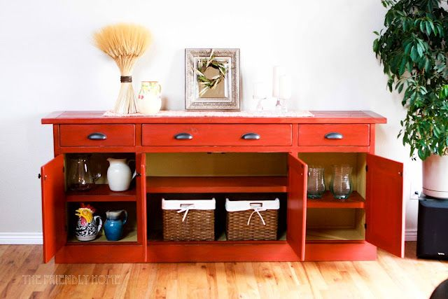 Plans from Ana White to make this awesome cabinet!