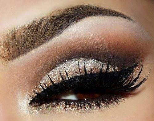 Light, Smokey Eye   Make up   Pinterest