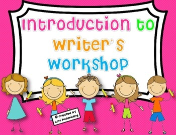 This product will help you launch your Writer's Workshop program. It contains the following:102 Writer's Workshop Vocabulary Words for Word Wal...
