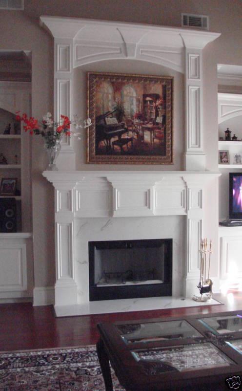 "Fireplace Surround Mantel Shelf Legs ""Georgia"" | eBay"