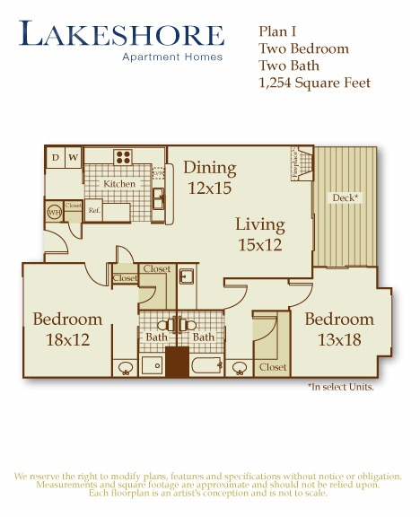 2 Bedroom 2 Bath With Washer Dryer Floor Plans Pinterest