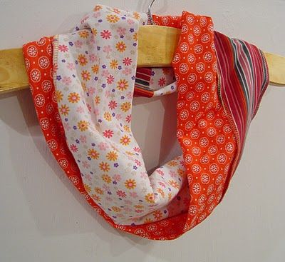 Sewing Class Review - Cowl Scarf and Twisted Scarf