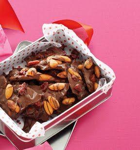 Almond-Cherry-Chocolate Bark: Self.com