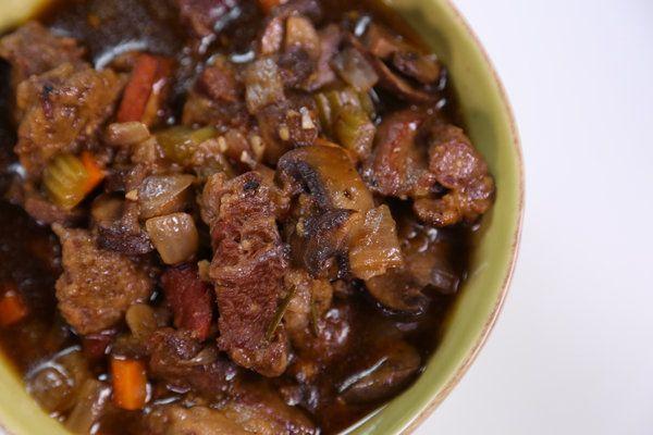 the chew | Recipe | Michael Symon's Beef Stout Stew